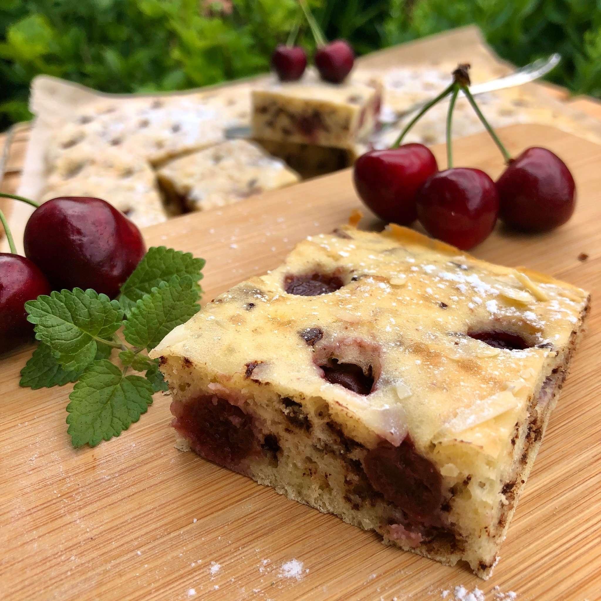 Buttermilch-Kirsch-Kuchen