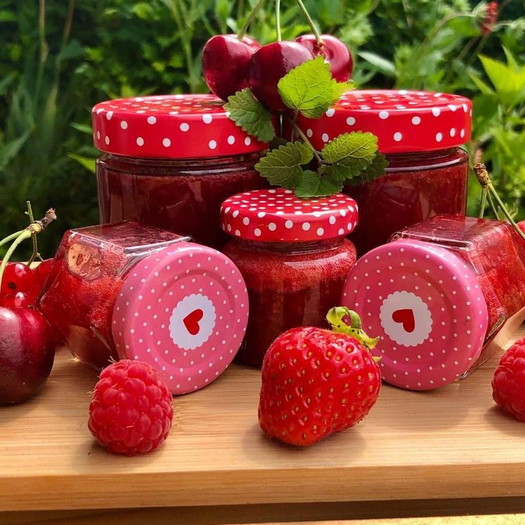 Sommerbeeren-Marmelade